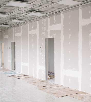 pareti in cartongesso